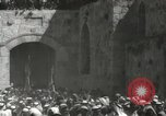 Image of Annual pilgrimage to Nabi Musa (Tomb of Prophet Moses) Palestine, 1945, second 38 stock footage video 65675062974