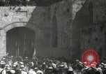 Image of Annual pilgrimage to Nabi Musa (Tomb of Prophet Moses) Palestine, 1945, second 41 stock footage video 65675062974