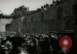 Image of Annual pilgrimage to Nabi Musa (Tomb of Prophet Moses) Palestine, 1945, second 51 stock footage video 65675062974