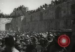 Image of Annual pilgrimage to Nabi Musa (Tomb of Prophet Moses) Palestine, 1945, second 52 stock footage video 65675062974