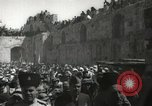 Image of Annual pilgrimage to Nabi Musa (Tomb of Prophet Moses) Palestine, 1945, second 53 stock footage video 65675062974