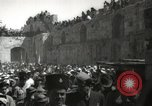 Image of Annual pilgrimage to Nabi Musa (Tomb of Prophet Moses) Palestine, 1945, second 54 stock footage video 65675062974