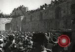 Image of Annual pilgrimage to Nabi Musa (Tomb of Prophet Moses) Palestine, 1945, second 56 stock footage video 65675062974