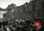 Image of Annual pilgrimage to Nabi Musa (Tomb of Prophet Moses) Palestine, 1945, second 59 stock footage video 65675062974