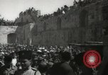 Image of Annual pilgrimage to Nabi Musa (Tomb of Prophet Moses) Palestine, 1945, second 62 stock footage video 65675062974