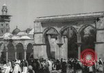 Image of Families at  Al Aqsa Mosque Jerusalem Palestine, 1945, second 2 stock footage video 65675062975