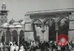 Image of Families at  Al Aqsa Mosque Jerusalem Palestine, 1945, second 3 stock footage video 65675062975