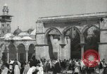 Image of Families at  Al Aqsa Mosque Jerusalem Palestine, 1945, second 4 stock footage video 65675062975