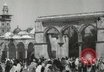 Image of Families at  Al Aqsa Mosque Jerusalem Palestine, 1945, second 5 stock footage video 65675062975