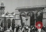 Image of Families at  Al Aqsa Mosque Jerusalem Palestine, 1945, second 8 stock footage video 65675062975