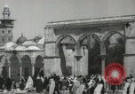 Image of Families at  Al Aqsa Mosque Jerusalem Palestine, 1945, second 9 stock footage video 65675062975