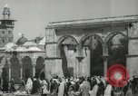 Image of Families at  Al Aqsa Mosque Jerusalem Palestine, 1945, second 10 stock footage video 65675062975