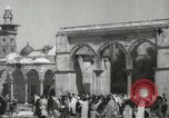 Image of Families at  Al Aqsa Mosque Jerusalem Palestine, 1945, second 11 stock footage video 65675062975