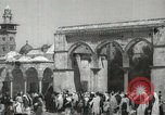 Image of Families at  Al Aqsa Mosque Jerusalem Palestine, 1945, second 13 stock footage video 65675062975
