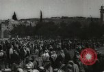 Image of Families at  Al Aqsa Mosque Jerusalem Palestine, 1945, second 14 stock footage video 65675062975