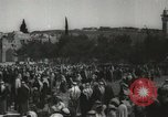 Image of Families at  Al Aqsa Mosque Jerusalem Palestine, 1945, second 15 stock footage video 65675062975