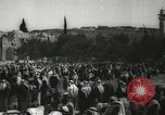 Image of Families at  Al Aqsa Mosque Jerusalem Palestine, 1945, second 16 stock footage video 65675062975