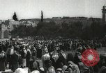 Image of Families at  Al Aqsa Mosque Jerusalem Palestine, 1945, second 17 stock footage video 65675062975