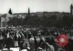 Image of Families at  Al Aqsa Mosque Jerusalem Palestine, 1945, second 18 stock footage video 65675062975
