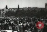 Image of Families at  Al Aqsa Mosque Jerusalem Palestine, 1945, second 19 stock footage video 65675062975