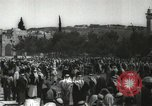 Image of Families at  Al Aqsa Mosque Jerusalem Palestine, 1945, second 20 stock footage video 65675062975