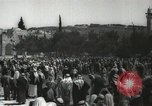 Image of Families at  Al Aqsa Mosque Jerusalem Palestine, 1945, second 21 stock footage video 65675062975