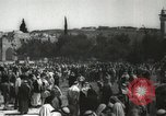 Image of Families at  Al Aqsa Mosque Jerusalem Palestine, 1945, second 22 stock footage video 65675062975