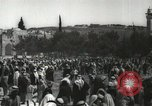 Image of Families at  Al Aqsa Mosque Jerusalem Palestine, 1945, second 23 stock footage video 65675062975
