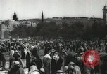 Image of Families at  Al Aqsa Mosque Jerusalem Palestine, 1945, second 24 stock footage video 65675062975