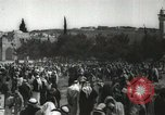 Image of Families at  Al Aqsa Mosque Jerusalem Palestine, 1945, second 25 stock footage video 65675062975