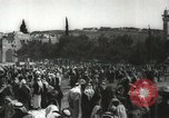 Image of Families at  Al Aqsa Mosque Jerusalem Palestine, 1945, second 26 stock footage video 65675062975