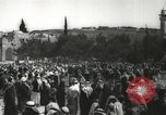 Image of Families at  Al Aqsa Mosque Jerusalem Palestine, 1945, second 27 stock footage video 65675062975