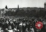 Image of Families at  Al Aqsa Mosque Jerusalem Palestine, 1945, second 28 stock footage video 65675062975