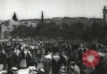 Image of Families at  Al Aqsa Mosque Jerusalem Palestine, 1945, second 29 stock footage video 65675062975