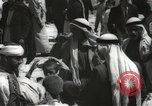 Image of Families at  Al Aqsa Mosque Jerusalem Palestine, 1945, second 62 stock footage video 65675062975