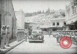 Image of Emir and officials attend Friday prayers  Amman Transjordan, 1945, second 10 stock footage video 65675062977