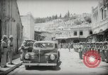 Image of Emir and officials attend Friday prayers  Amman Transjordan, 1945, second 14 stock footage video 65675062977