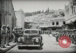 Image of Emir and officials attend Friday prayers  Amman Transjordan, 1945, second 15 stock footage video 65675062977