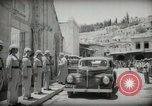 Image of Emir and officials attend Friday prayers  Amman Transjordan, 1945, second 18 stock footage video 65675062977