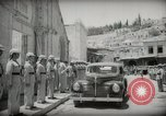 Image of Emir and officials attend Friday prayers  Amman Transjordan, 1945, second 20 stock footage video 65675062977