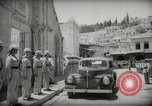 Image of Emir and officials attend Friday prayers  Amman Transjordan, 1945, second 21 stock footage video 65675062977