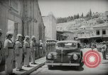Image of Emir and officials attend Friday prayers  Amman Transjordan, 1945, second 22 stock footage video 65675062977