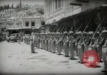 Image of Emir and officials attend Friday prayers  Amman Transjordan, 1945, second 25 stock footage video 65675062977
