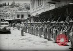 Image of Emir and officials attend Friday prayers  Amman Transjordan, 1945, second 30 stock footage video 65675062977