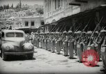 Image of Emir and officials attend Friday prayers  Amman Transjordan, 1945, second 32 stock footage video 65675062977