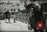Image of Emir and officials attend Friday prayers  Amman Transjordan, 1945, second 37 stock footage video 65675062977