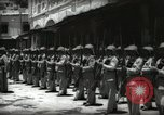 Image of Emir and officials attend Friday prayers  Amman Transjordan, 1945, second 60 stock footage video 65675062977