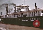 Image of steamer Mark Twain United States USA, 1942, second 32 stock footage video 65675062995