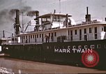 Image of steamer Mark Twain United States USA, 1942, second 33 stock footage video 65675062995