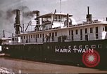 Image of steamer Mark Twain United States USA, 1942, second 34 stock footage video 65675062995